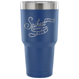 30oz Vacuum Tumbler - Spiked with Essential Oils (7 colors available) Essential Oil Style young living tshirts funny oil shirts popular oil shirts doterra tshirts convention shirts