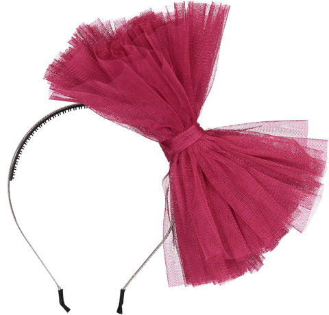 TUTU Hairband // Raspberry