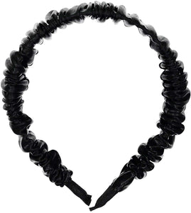 SCRUNCH Hairband // Black