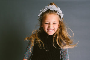 CLUSTER Headband // Black - KNOT Hairbands