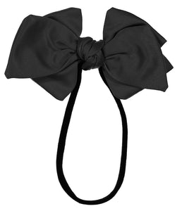 Ballerina Bow Band // BLACK