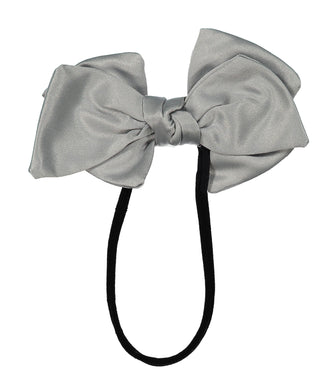 Ballerina Bow Band // GREY - KNOT Hairbands