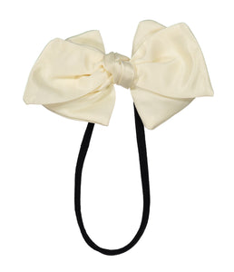 Ballerina Bow Band // IVORY - KNOT Hairbands