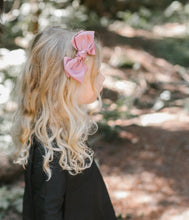 Load image into Gallery viewer, Ballerina Bow Band // BLACK - KNOT Hairbands