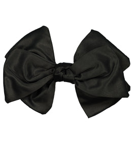 Ballerina Bow Clip // BLACK - KNOT Hairbands