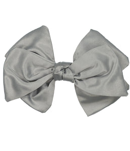 Ballerina Bow Clip // GREY - KNOT Hairbands