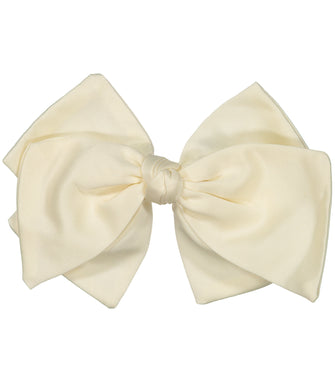 Ballerina Bow Clip // IVORY - KNOT Hairbands
