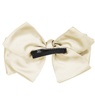 Load image into Gallery viewer, Ballerina Bow Clip // IVORY