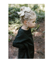 Load image into Gallery viewer, Ballerina Bow Clip // GREY - KNOT Hairbands