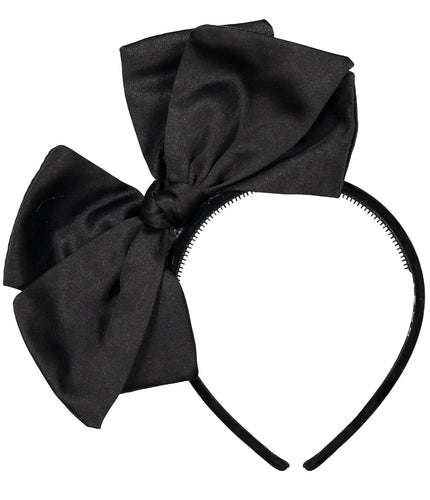 Ballerina Bow Headband // BLACK