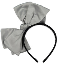 Load image into Gallery viewer, Ballerina Bow Headband // GREY - KNOT Hairbands