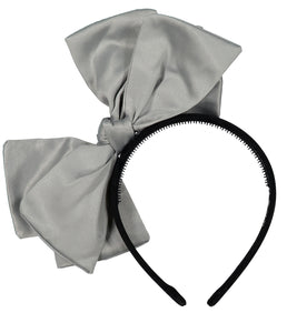 Ballerina Bow Headband // GREY - KNOT Hairbands