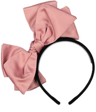 Load image into Gallery viewer, Ballerina Bow Headband // PINK - KNOT Hairbands