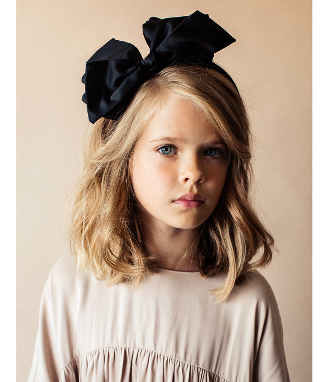 Ballerina Bow Headband    BLACK – KNOT Hairbands 6b242e0b47d