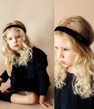 Load image into Gallery viewer, Ballet Slipper Band // BLACK - KNOT Hairbands