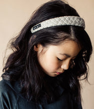 Load image into Gallery viewer, Ballet Slipper Headband // WINTER WHITE