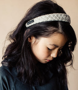 Ballet Slipper Headband // NAVY