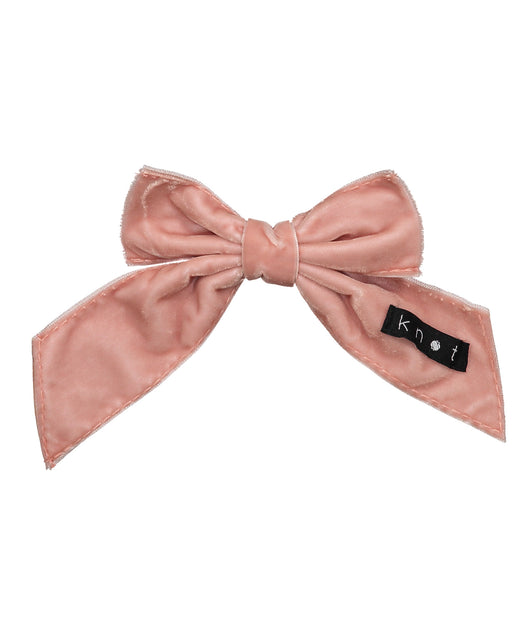 Barre Bow Clip // BALLET PINK