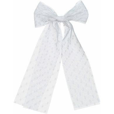 BRUSHED BOW CLIP - KNOT Hairbands