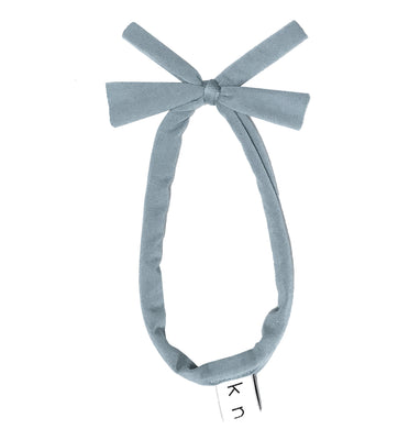 BUTTERFLY Band // Slate Blue - KNOT Hairbands