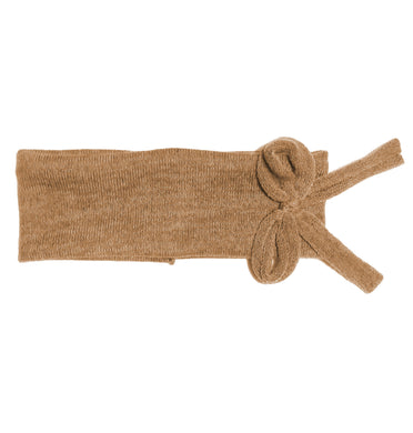 Bébé Bow Headwrap // Almond KNIT - KNOT Hairbands