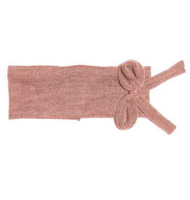 Bébé Bow Headwrap // Blush KNIT - KNOT Hairbands