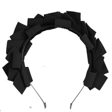 Load image into Gallery viewer, CLUSTER Headband // Black - KNOT Hairbands