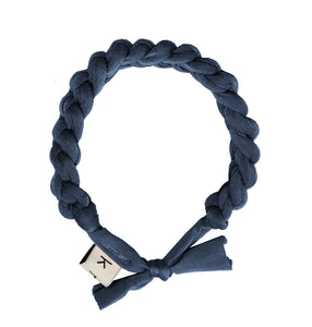 CATERPILLAR Headwrap // Navy - KNOT Hairbands