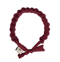 Load image into Gallery viewer, CATERPILLAR Headwrap // Wine - KNOT Hairbands