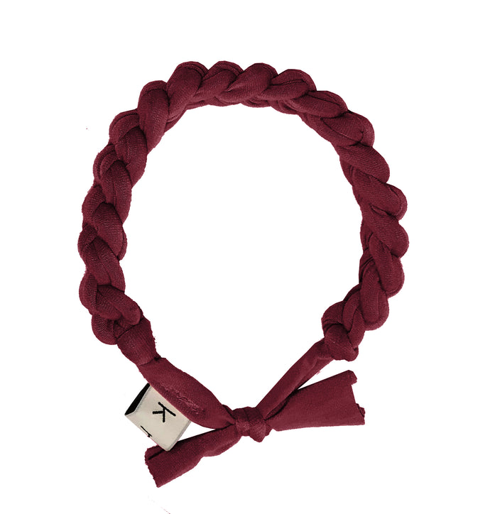 CATERPILLAR Headwrap // Wine - KNOT Hairbands