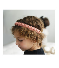 Load image into Gallery viewer, CATERPILLAR Headwrap // Black - KNOT Hairbands