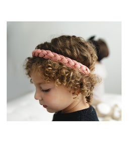 CATERPILLAR Headwrap // White - KNOT Hairbands