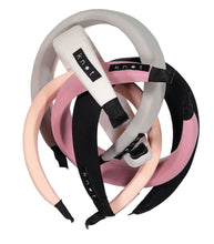 Load image into Gallery viewer, Cloud Headband // Black - KNOT Hairbands