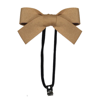 COZY BOW BAND // Almond - KNOT Hairbands
