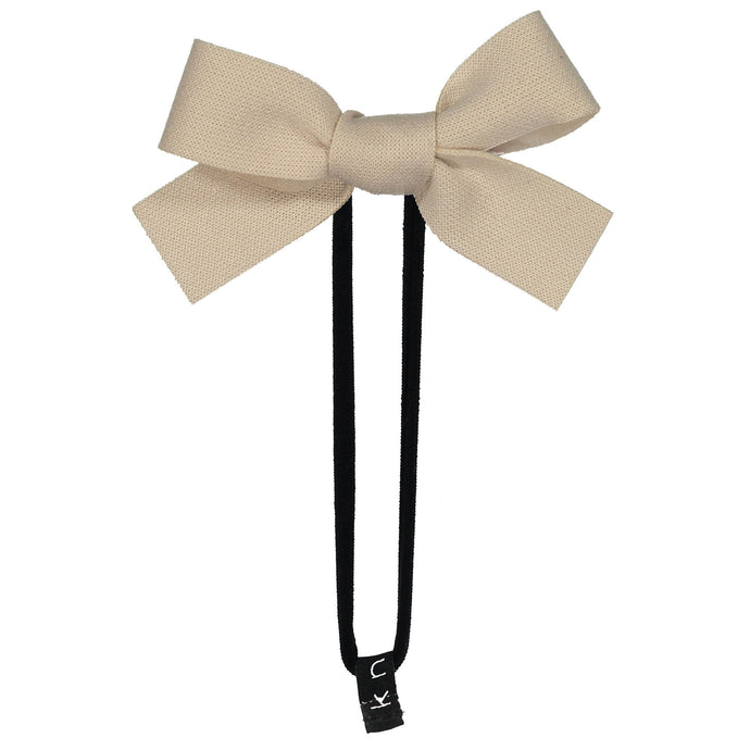 COZY BOW BAND // Pearl - KNOT Hairbands