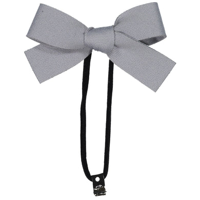 COZY BOW BAND // Slate - KNOT Hairbands
