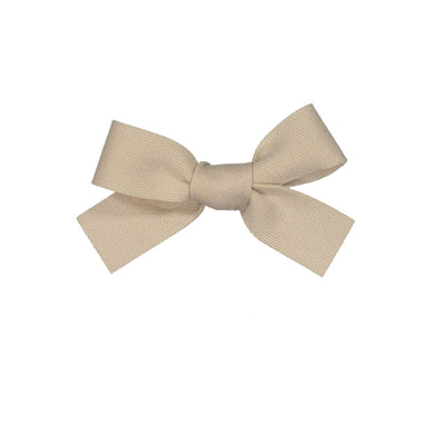 COZY BOW CLIP // Pearl // MINI - KNOT Hairbands
