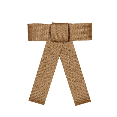 COZY BOW CLIP // Almond // YOUTH - KNOT Hairbands