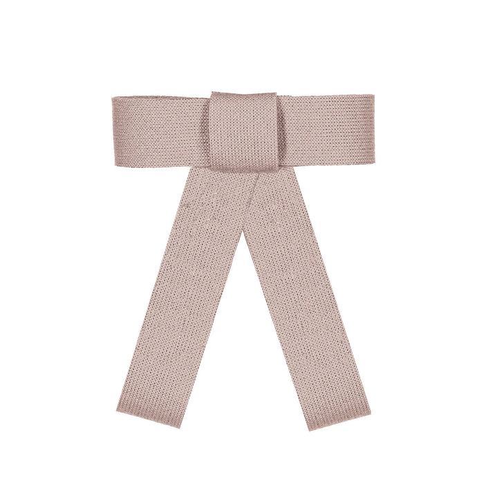 COZY BOW CLIP // Blush Glow // YOUTH - KNOT Hairbands