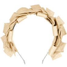 Load image into Gallery viewer, CLUSTER Headband // Ivory - KNOT Hairbands