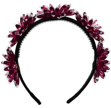 Load image into Gallery viewer, ENCHANTED Crown // BERRY - KNOT Hairbands