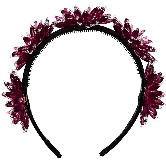 ENCHANTED Crown // BERRY - KNOT Hairbands