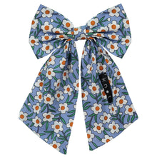 Load image into Gallery viewer, FLORAL BOW CLIP - KNOT Hairbands