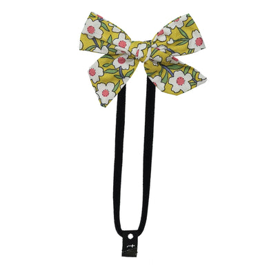 FLORAL BOW BAND - KNOT Hairbands
