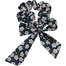 Load image into Gallery viewer, FLORAL SCRUNCHIE - KNOT Hairbands