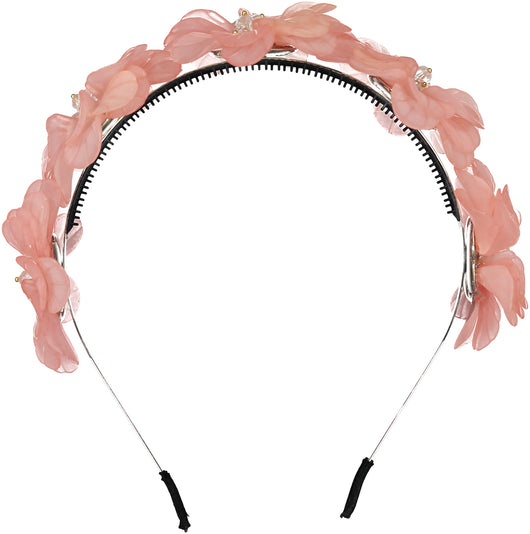 POPPY Headband // Coral - KNOT Hairbands