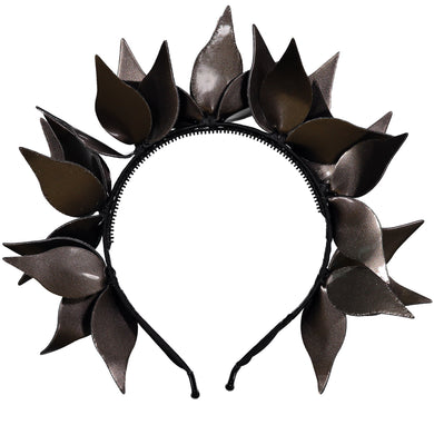 IVY Headband // METALLIC CHESTNUT