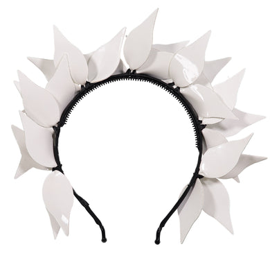 IVY Headband // SNOWFALL WHITE - KNOT Hairbands