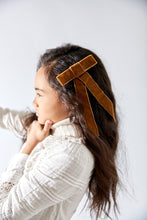 Load image into Gallery viewer, SHADOW RIBBON CLIP - KNOT Hairbands
