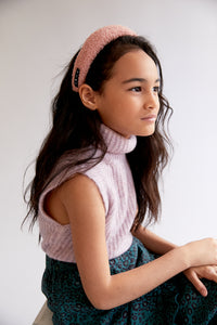 SILHOUETTE BOUCLE HEADBAND - KNOT Hairbands